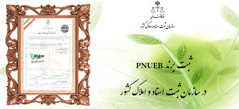 ثبت برند pnueb در اداره مالکیت معنوی
